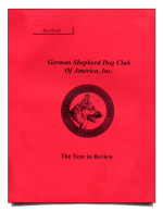 GSDCA Redbooks (the GSD Year in Review)